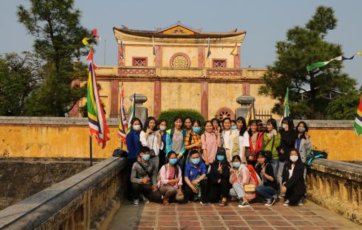 Cận cảnh không gian Lầu Tàng Thơ, kho lưu trữ tài liệu quốc gia triều Nguyễn