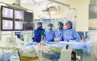 Cấp cứu thành công bé sơ sinh rối loạn nhịp tim gần 300 lần/phút