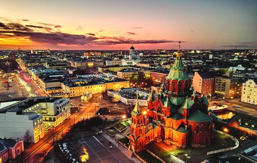 Đến Helsinki để luôn cảm thấy hạnh phúc