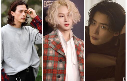 Loạt mỹ nam Hàn Quốc làm mới diện mạo với tóc dài