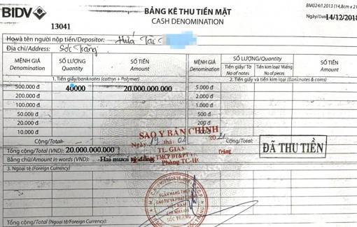 Sóc Trăng: Mẹ chồng - nàng dâu và sổ tiết kiệm 20 tỷ mất chủ
