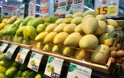 Xoài Việt Nam xuất khẩu vào Mỹ có giá bình quân 2,2 USD/kg