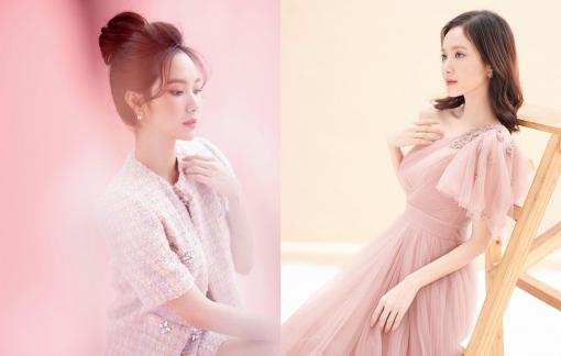 Làm điệu với trang phục nữ tính như Jang Mi