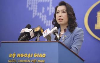Yêu cầu tàu Trung Quốc chấm dứt vi phạm ở Sinh Tồn Đông