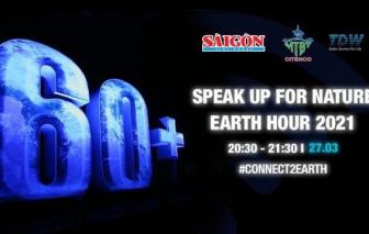 Hơn 100.000 người tham gia Chiến dịch Giờ trái đất online từ 20g30 - 21g30 tối 27/3