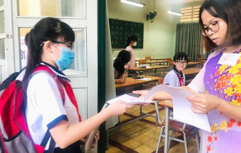 Nhiều trường muốn mở rộng khảo sát chọn học sinh lớp Sáu