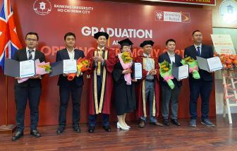 6 nghiên cứu sinh đầu tiên tham gia chương trình tiến sĩ quốc tế tài chính - ngân hàng