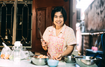 Căn bếp - nơi sưởi ấm tình yêu gia đình