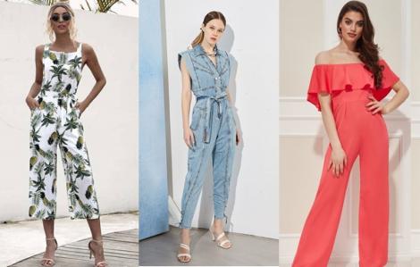 Những mẫu jumpsuit dẫn đầu xu hướng mùa hè 2021