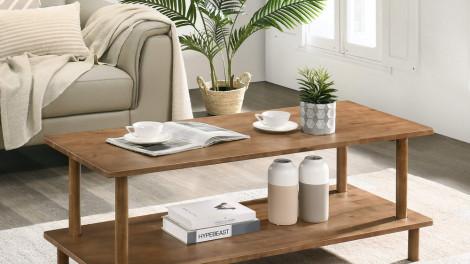 Trang trí bàn cà phê trong phòng khách: Bạn nên cân nhắc điều gì?