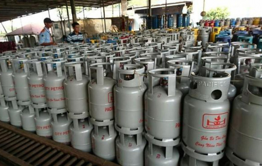 Giá gas tháng 4 giảm 20.000 đồng/bình 12kg