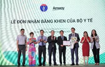 Amway Việt Nam tự hào lần thứ 2 đón nhận bằng khen của Bộ Y tế