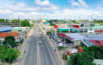 Bình Dương biến Quốc lộ 13 thành đại lộ, đưa Thuận An thành trung tâm tài chính mới