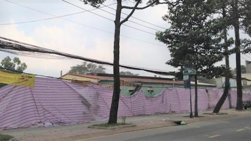"""""""Cò"""" rao bán cả đất xây trụ sở Đội Cảnh sát PCCC quận 10"""