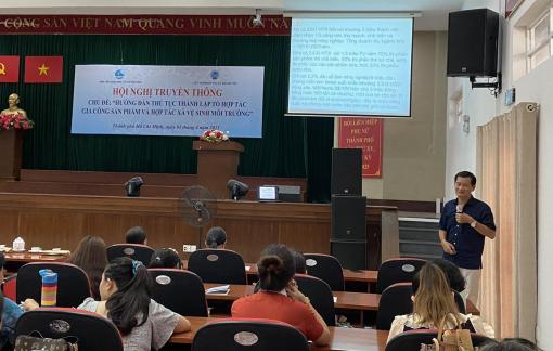 250 cán bộ, hội viên tìm hiểu về tổ hợp tác và hợp tác xã