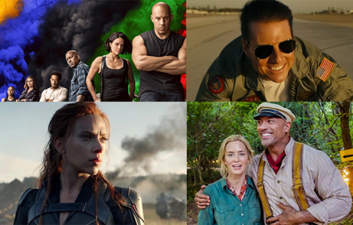 40 phim đổ bộ mùa hè