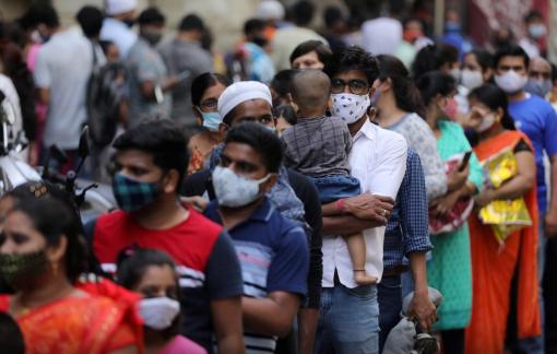 Ấn Độ ghi nhận mức kỷ lục hơn 100.000 ca nhiễm COVID-19 mới trong ngày