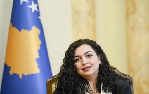 Bà Vjosa Osmanitrúng cử Tổng thống Kosovo