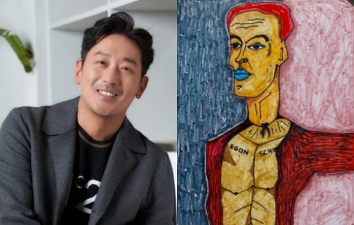 Khi ca sĩ, diễn viên Hàn Quốc lấn sân hội hoạ