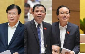 Quốc hội phê chuẩn miễn nhiệm 13 thành viên Chính phủ
