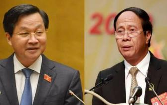 Đề cử 2 Phó thủ tướng Lê Minh Khái và Lê Văn Thành