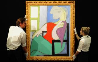 Tranh vẽ người tình bí ẩn của Picasso đấu giá hơn 1,2 ngàn tỷ đồng