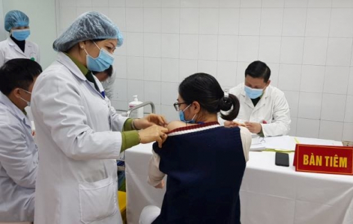 Kết thúc tiêm thử nghiệm giai đoạn 2 vắc-xin Nanocovax vào ngày 8/4