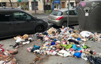 Kinh hoàng thủ đô Paris mỹ lệ ngập trong rác?