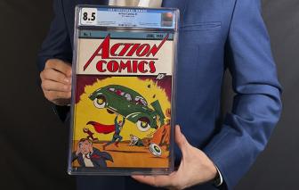 Truyện tranh Siêu nhân được bán với giá kỷ lục 3,25 triệu USD