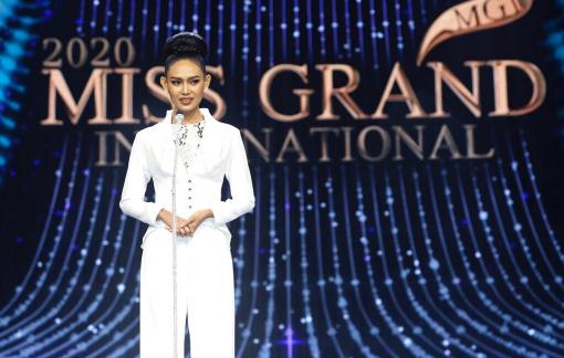 Hoa hậu Hoà bình Quốc tế Myanmar bị truy nã