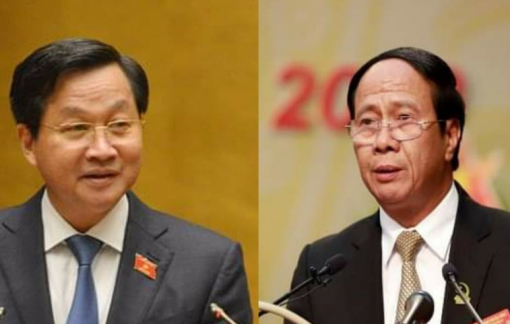 Ông Lê Minh Khái và Lê Văn Thành làm Phó Thủ tướng Chính phủ