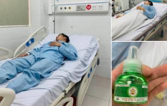 Gia đình 4 người nhập viện do ngộ độc tinh dầu đuổi muỗi