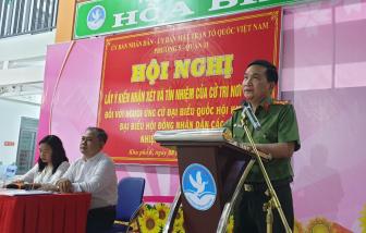 Đại tá Nguyễn Sỹ Quang được 100% cử tri nơi cư trú giới thiệu ứng cử ĐBQH