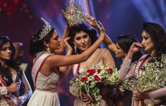 Hoa hậu Quý bà Sri Lanka bị bắt vì giật vương miện