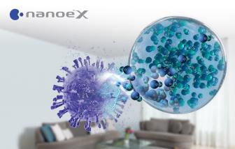 Công nghệ ức chế vi-rút SARS-CoV-2 trong không gian kín