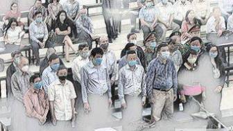 Đại án gang thép Thái Nguyên: Nguyên Tổng giám đốc VNS vắng mặt, tòa vẫn xử