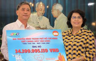 Mặt trận Tổ quốc Việt Nam TPHCM tiếp nhận hơn 34,3 tỷ đồng ủng hộ mua vắc-xin COVID-19