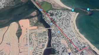 Đề xuất kéo tuyến đường ven biển Đà Nẵng lên đến chân đèo Hải Vân