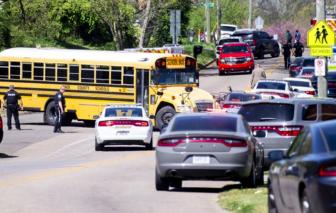 Xả súng trong trường học ở Mỹ, một học sinh thiệt mạng