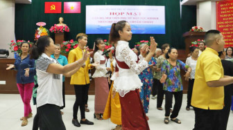Họp mặt phụ nữ dân tộc Khmer nhân dịp Tết Chol-Chnam-Thmay