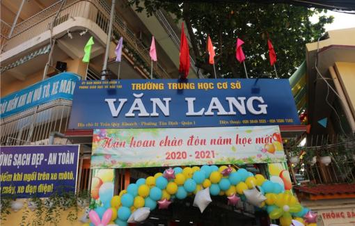 Trường THCS Văn Lang thu dư nhiều khoản tiền của người học