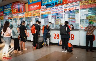 Lượt khách đi lại dịp 30/4 và 1/5 tại các bến xe sẽ tăng 200%