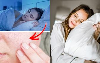 Da mịn, giảm nếp nhăn nhờ ngủ không dùng gối