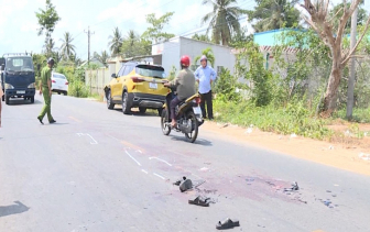 Vĩnh Long: tai nạn giao thông liên hoàn trên quốc lộ khiến 2 người tử vong