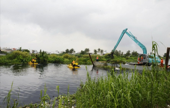 8.200 tỷ đồng nạo vét kênh Tham Lương - Bến Cát - rạch Nước Lên