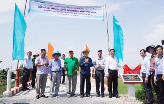 Long An: Khánh thành 17 công trình cầu giao thông nông thôn