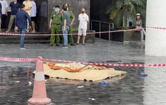 Nạn nhân rơi tại chung cư CT2 Thái Hà được xác định là nữ giới
