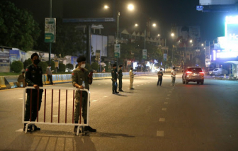 Bùng phát dịch COVID-19, Campuchia phong tỏa thủ đô Phnom Penh