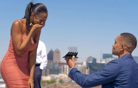 Cầu hôn người yêu bằng 5 chiếc nhẫn kim cương