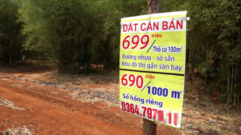 Nhiều nơi có dấu hiệu làm giả tài liệu của Nhà nước gây sốt đất